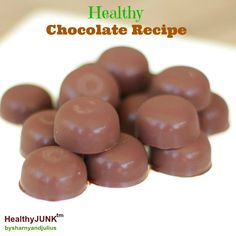 Healthy Chocolate Recipe | Sharny and Julius