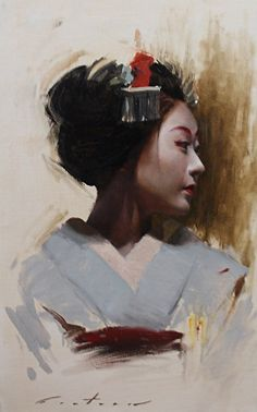BoldBrush Painting Competition Winner - September 2014 | Katsunosuke by Phil Couture
