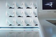 Zukunfts-Küche aus Corian von DuPont | designed by Zaha Hadid | manufactured by Hasenkopf