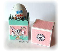 KayBeScraps: 3. Blog-Geburtstag = Workshop Ü-Ei-Box
