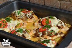 Búbos csirkemell - Keva Blog Vegetable Pizza, Cauliflower, Vegetables, Blog, Red Peppers, Cauliflowers, Vegetable Recipes, Blogging, Cucumber