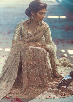 Ornate #Desi #Fashion via Pinterest @primadonnaa
