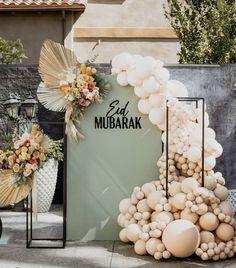 Balloon Garland, Balloons, Bridal Shower, Baby Shower, Eid Al Adha, Rose Boutique, Eid Mubarak, Backdrops, Blush