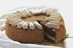 COFFEE CAKE - torta cremosa al caffè, il suo aroma inebriante vi conquisterà! Italian Bakery, Cheesecake, Mocha Chocolate, Torte Cake, Dessert Recipes, Desserts, Yummy Cakes, Italian Recipes, Coffee Cake