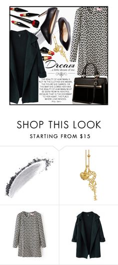 """Beautifulhalo!"" by ina-kis ❤ liked on Polyvore featuring NARS Cosmetics, Christian Louboutin, Blossom Copenhagen, River Island, Love Quotes Scarves, women's clothing, women's fashion, women, female and woman"
