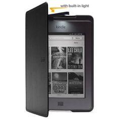 Amazon Kindle Touch Lighted Leather Cover, Black --- http://bizz.mx/qcr