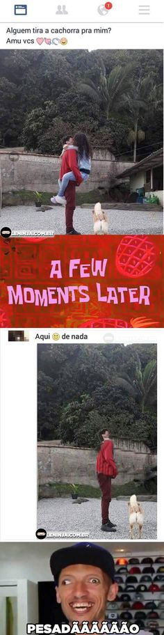 Nunca peça ajuda a internet  Repito N U N C A.  The post Nunca peça ajuda a internet appeared first on Le Ninja.