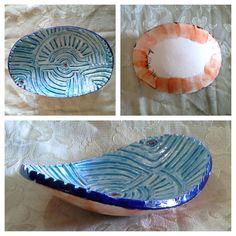 Ciotola in ceramica incisa