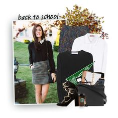 """""""Back To School: Ivy League"""" by hollowpoint-smile ❤ liked on Polyvore featuring 81hours, Trina Turk, Victoria Beckham, See by Chloé, Kate Spade, Sharpie, Cutler and Gross and Marc by Marc Jacobs"""