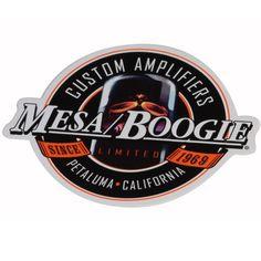 Mesa Boogie, Mesa-Boogie, Mesa, Mesaboogie, Aufkleber, Sticker, Modell-Nr. 70125