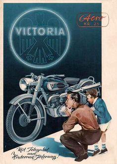 50'S MOTORCYCLE ADVERTISING Bike Poster, Motorcycle Posters, Motorcycle Garage, Poster Ads, Motorcycle Art, Motorcycle Design, Bike Art, Bmw Motorcycles, Vintage Motorcycles
