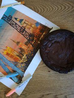 Vegan and gluten free choco cake