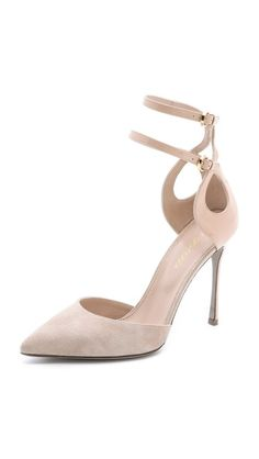 Sergio Rossi Ankle Strap Pumps - This is just a sexy, gorgeous shoe.
