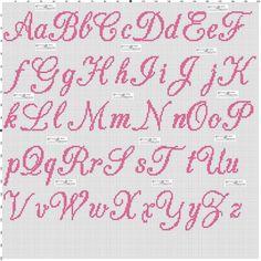 x - Cross Stitch Cross Stitch Letter Patterns, Monogram Cross Stitch, Cross Stitch Baby, Cross Stitch Designs, Stitch Patterns, Cross Stitching, Cross Stitch Embroidery, Embroidery Alphabet, Embroidery Patterns