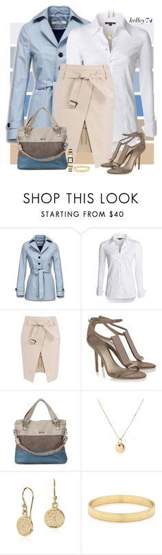"""Spring"" by kelley74 ❤ liked on Polyvore featuring Seed Design, Mexx, NIC+ZOE, Burberry, Christina Elleni, Kate Spade and Samantha Wills"