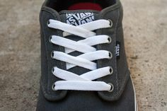 How to Lace Vans Classic (with Pictures) | eHow