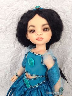 Жасмин.ООАК куклы от Паола Рейна. / Другие коллекционные куклы / Бэйбики. Куклы фото. Одежда для кукол
