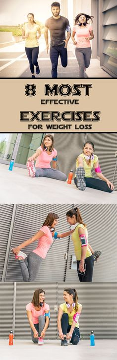 8 Most Effective Exercises For Weight Loss – Exercise Secret Plan