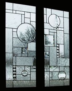 Painted Glass Art Old Windows Stained Glass Door, Stained Glass Designs, Stained Glass Panels, Stained Glass Projects, Stained Glass Patterns, Leaded Glass, Window Glass, Beveled Glass, Glass Wall Art