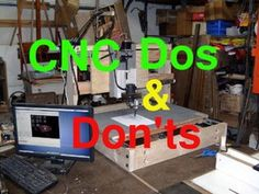 Picture of Cheap CNC Dos and Don'ts