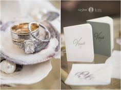 Aislinn Kate Photography | wedding rings | wedding details | vows | i do | seashells | wedding style