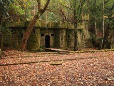 Castelo do Frendoal. Ruta do Bosque Encantado. Aldán (Cangas do Morrazo)