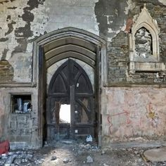 Sheffield General Cemetery's abandoned Anglican chapel  #RePin by AT Social Media Marketing - Pinterest Marketing Specialists ATSocialMedia.co.uk