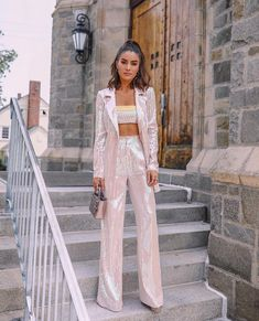 Spring Outfit Street Style Fashion lkbahar Tarz Tarz K yafetler Suit Fashion, Fashion Outfits, Womens Fashion, Fashion Tips, Color Fashion, Style Fashion, Mode Instagram, Outfit Elegantes, Suits For Women