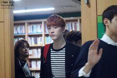 [10.10.2015] Astro Fansign - SanHa e EunWoo