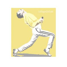 Freddie Mercury cross stitch pattern, Queen forever.