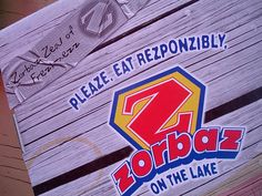 because summers in MN would not be the same without a visit to Zorbaz