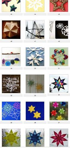Addobbi natalizi fai da te – stella di carta a cinque punte – Pagina 3 – Lapappadolce