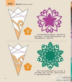 Different snowflakes tinker - templates and Verschiedene Schneeflocken basteln – Schablonen und Tinker different snowflakes – stencils and … - Paper Snowflake Patterns, Snowflake Stencil, Snowflake Template, Paper Snowflakes, Christmas Snowflakes, Origami And Kirigami, Origami Paper, Diy Paper, Paper Art