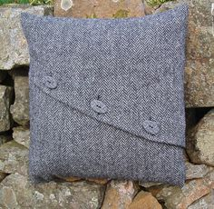 Harris Tweed cushion or pillow coverdecorative pillow