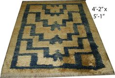 Authentic Rare Vintage Danish Rug by goodoldpieces on Etsy