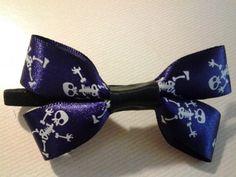 Halloween Skeleton Hair Tie by ArdentAccessories on Etsy, $3.00