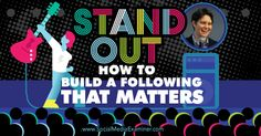Stand Out: How to Build a Following That Matters : Social Media Examiner http://www.socialmediaexaminer.com/stand-out-with-dorie-clark/?utm_campaign=crowdfire&utm_content=crowdfire&utm_medium=social&utm_source=pinterest