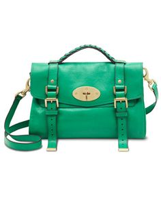 Mulberry Alexa bag. $1,200. The color is bright and gorgeeeeouusss. I want this teal in my closet this Fall. Well, more like my hand to trot it around proudly.
