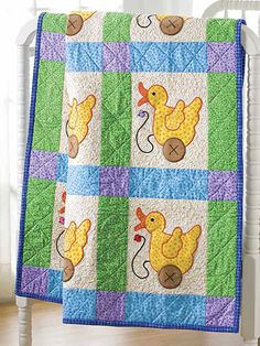 Just Ducky Baby Quilt
