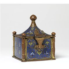 Pyx  Place of origin: Limoges (made)  Date: ca. 1200 (made)