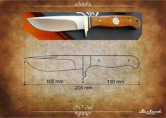 facón chico: Moldes de Cuchillos Knife Shapes, Knife Template, Knife Patterns, Swords And Daggers, Knife Making, Blacksmithing, Metal Working, Steel, How To Make