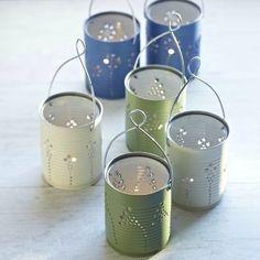 Tin+Can+Lanterns