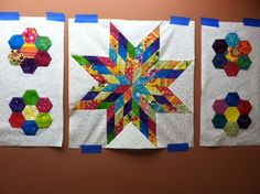 Jan. & Feb by mtclifford2012, via Flickr  The ScrapHappy Quilt along