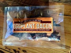 "EGGPLANT BACON | ""Go ahead. Pig out."" by Trevor Sullivan —Kickstarter"