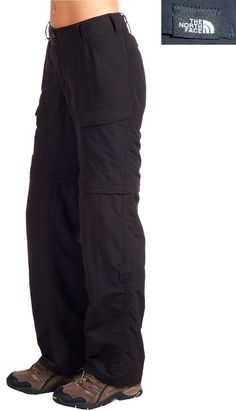 The North Face Paramount Peak Convertible Pants 3-WAY 12 Adventure Travel Trail #TheNorthFace