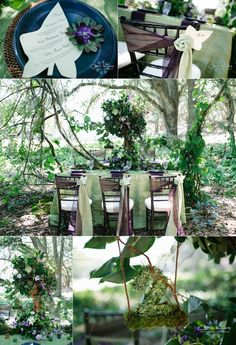Enchanted Forest Wedding Concept Featured on Savvy Deets — carrie wildes photography