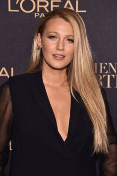 Actress Blake Lively attends the L'Oreal Paris Women of Worth Celebration 2016 event.