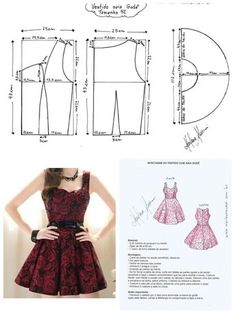 Here are all the basic circle skirt patterns. Check out the link for more instru… Here are all the basic circle skirt patterns. Check out the link for more instructions and variations. Dress Sewing Patterns, Sewing Patterns Free, Clothing Patterns, Skirt Patterns, Fashion Sewing, Diy Fashion, Sewing Clothes, Diy Clothes, Circle Skirt Pattern