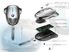 Consumer electronics by Han Huynh, via Behance