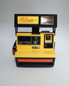 Rare Polaroid McDonalds Advertising Instant Film 600 Camera Takes Impossible Project Film!